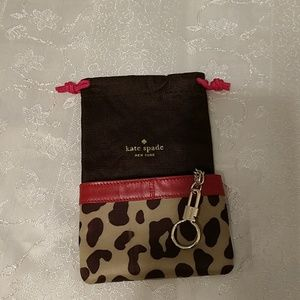 Kate Spade coin purse and dust bag/key chain.